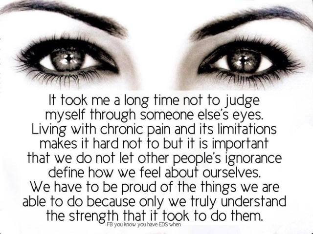 Don't Judge Yourself...
