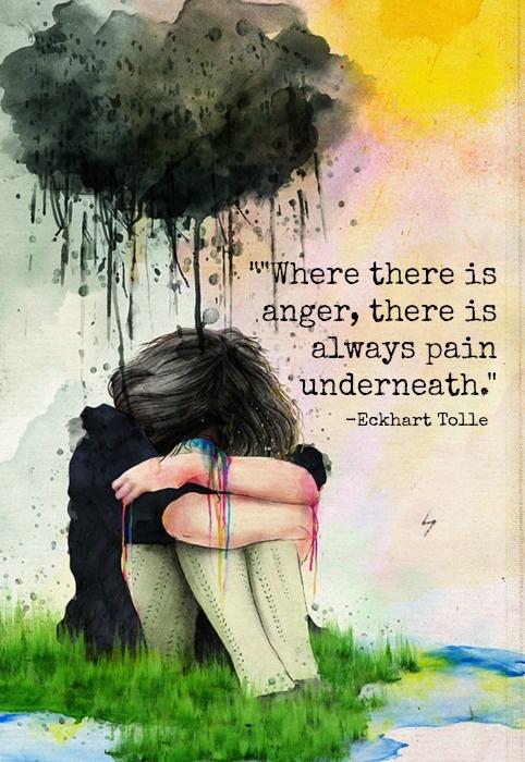 Pain Underneath...