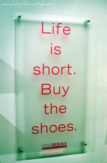 Buy The Shoes....
