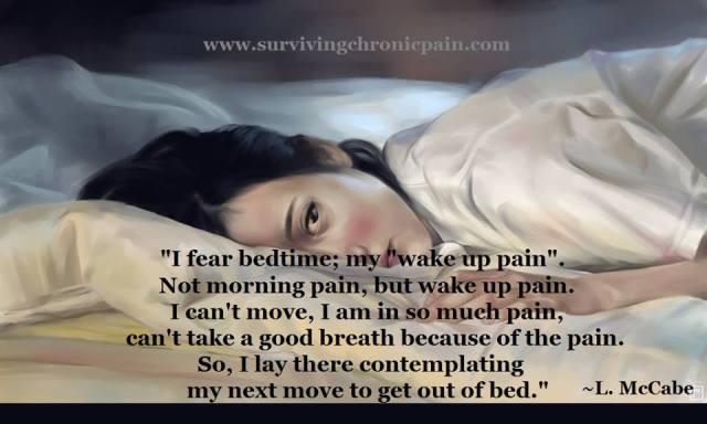 Wake Up Pain....